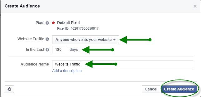 Facebook Retargeting Pixel 8