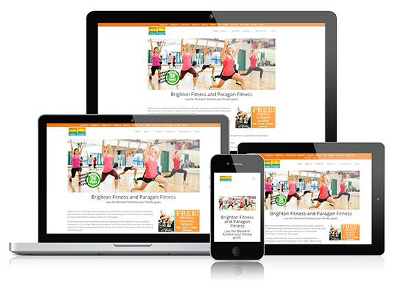 web design adelaide Brighton Fitness Paragon Fitness