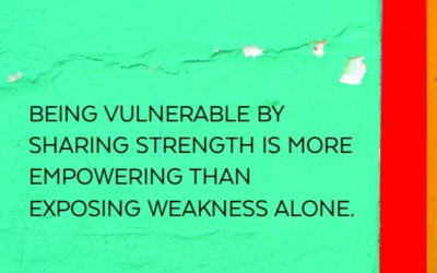 What Vulnerability Means to Me.