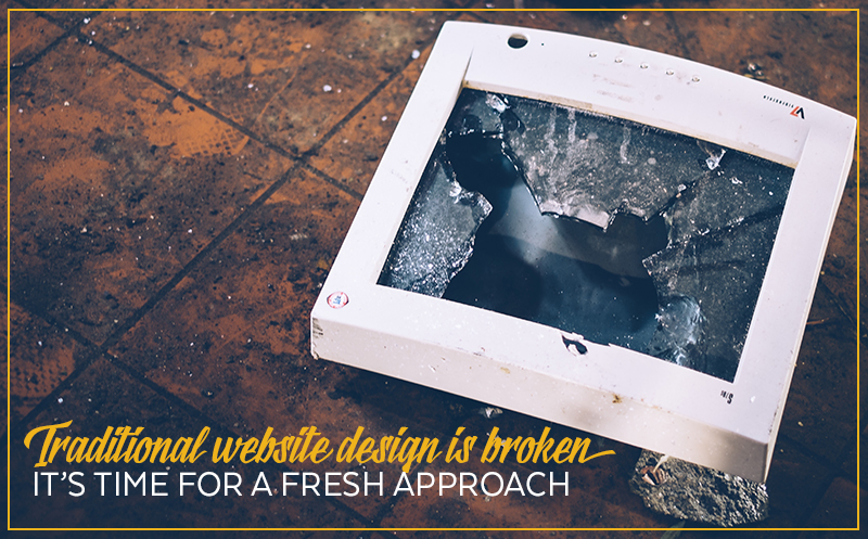 Website Redesign – There is an alternative