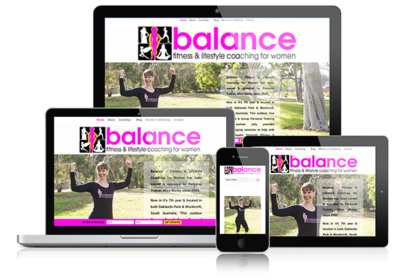 web design adelaide Balance Website