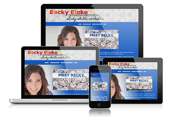 web design adelaide becky blake