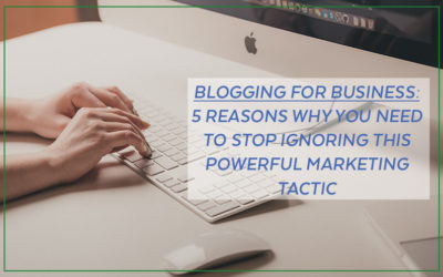 Blogging for Business – It's time for you to get onboard