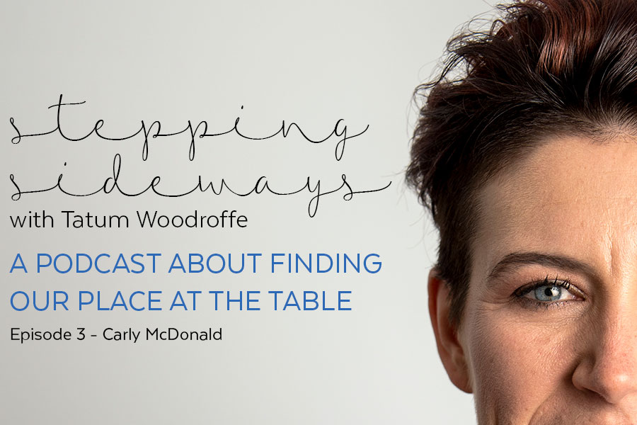 Talking with Carly McDonald – Stepping Sideways Podcast Episode 3