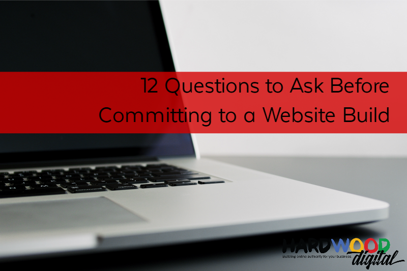 Setting up a website – 12 questions you want answered