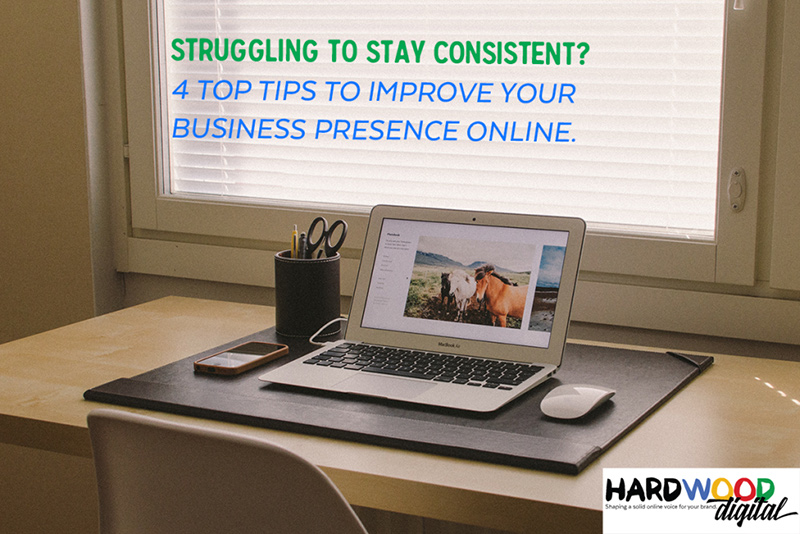 Achieving consistency with your online marketing.